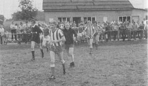 1967: neuer Sportplatz mit Vereinsheim
