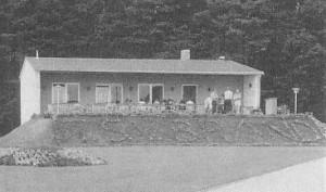 1973: Einweihung neues Vereinsheim