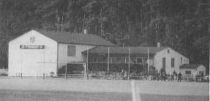 1976: Vereinsheim mit Gymnastikhalle